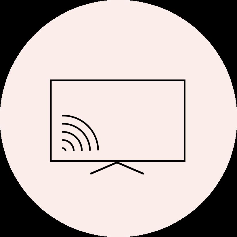 Webb och tv